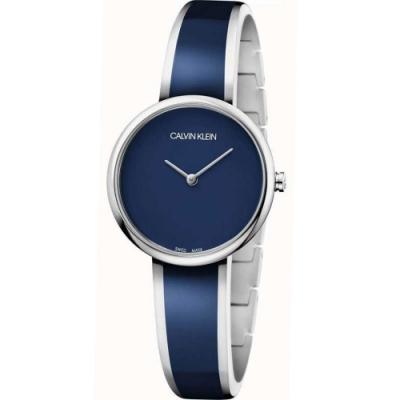 Calvin Klein CK Seduce個性迷人手鐲腕錶(K4E2N11N)30mm