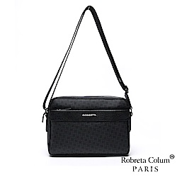 Roberta Colum - 尊爵名品格調頭層牛皮斜背側背包