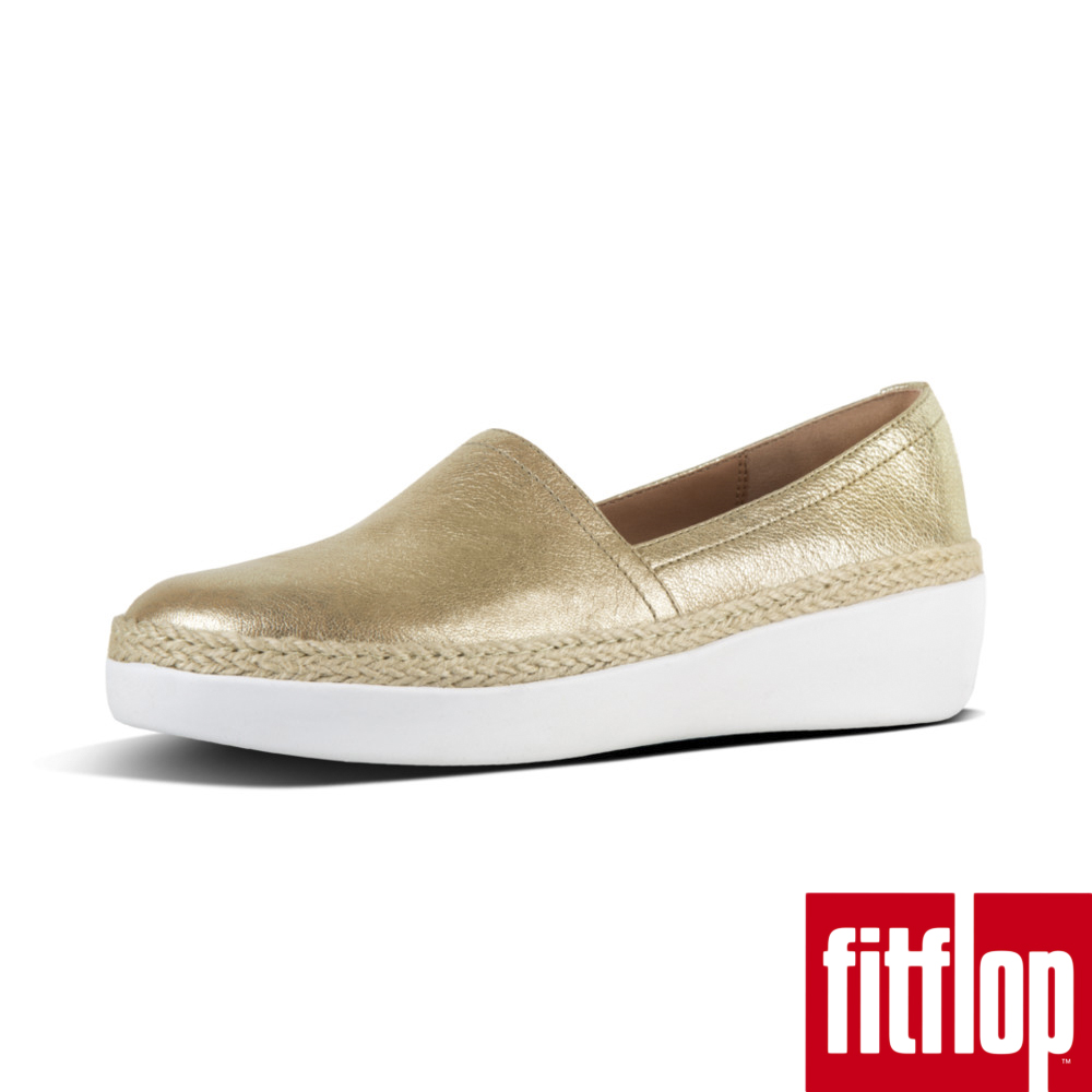 FitFlop CASA Loafers Metallic Leather-銅 @ Y!購物