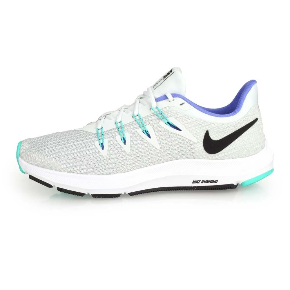NIKE  QUEST 女慢跑鞋-路跑 淺灰螢光綠紫   慢跑鞋  