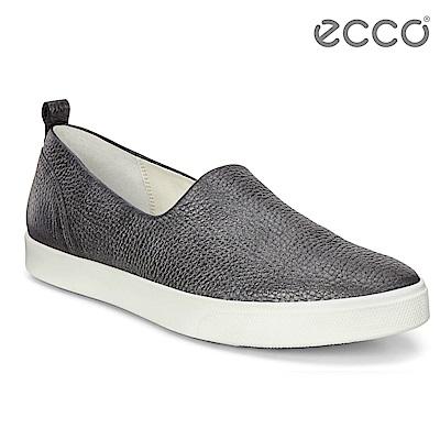 ECCO GILLIAN質感時尚尖頭樂福鞋 女-灰