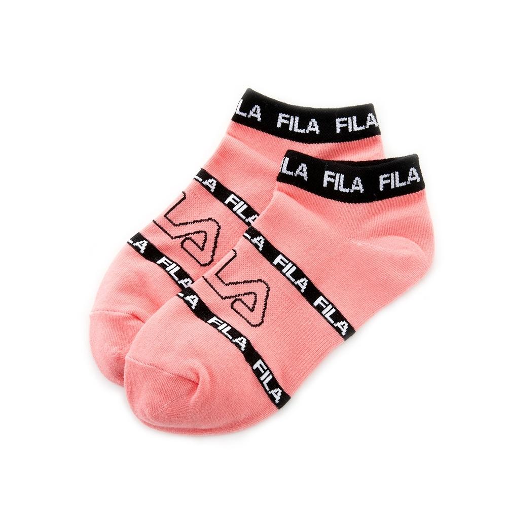 FILA 基本款棉質薄底踝襪-粉 SCU-1000-PK
