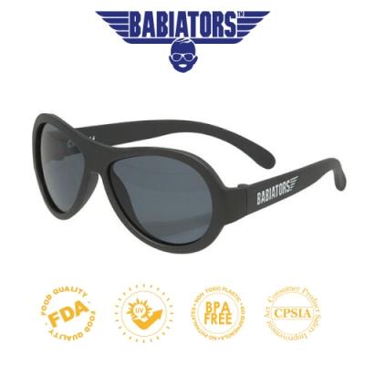 【美國Babiators】飛行員系列嬰幼兒太陽眼鏡-經典之黑 0-5歲