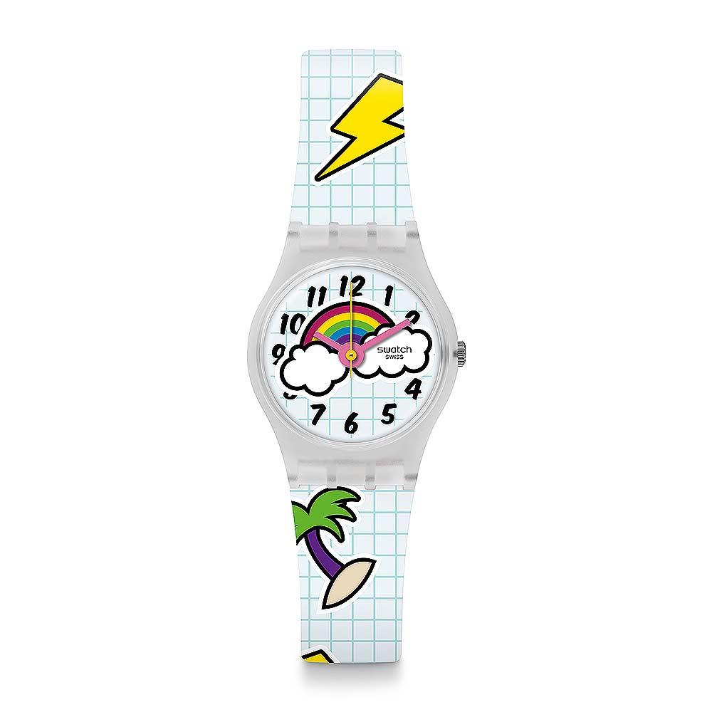 Swatch THINK FUN系列 SCHOOL BREAK 下課時光手錶
