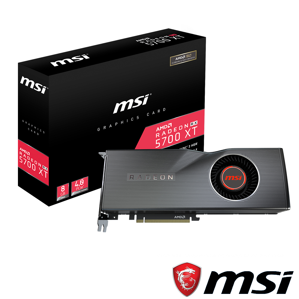 MSI微星 Radeon RX 5700 XT 顯示卡