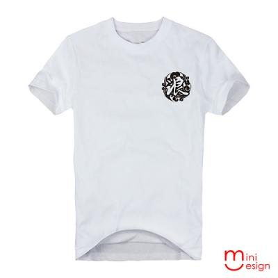 云浪潮流圖騰潮流設計短T 三色-Minidesign