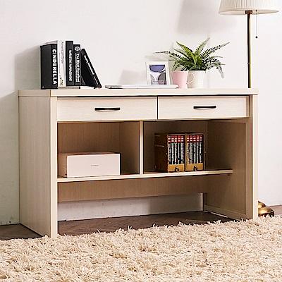 時尚屋 席安娜4尺書桌  寬120x深60x高75.5cm