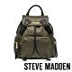 STEVE MADDEN-BSOLLY 時尚有型 超大容量軍旅後背包-墨綠色 product thumbnail 1