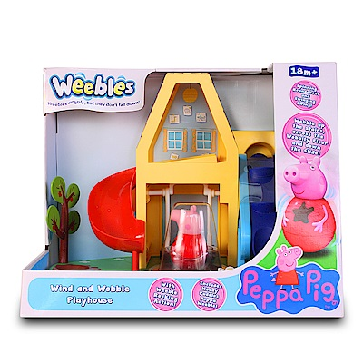 Peppa Pig 粉紅豬小妹-小屋溜滑梯組