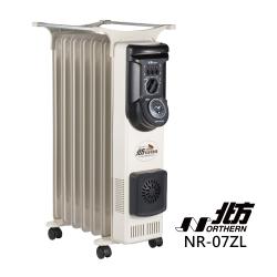 北方-7葉片式恆溫定時電暖爐(NR-07ZL)