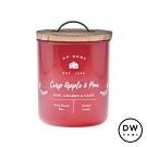 DW HOME 美國香氛 農園系列 蘋果脆梨 原木蓋玻璃罐 240g