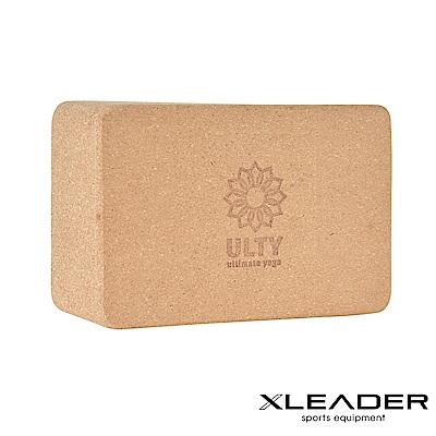 Leader X 環保軟木高密度抗壓瑜珈磚 加厚加重款9.5cm - 急