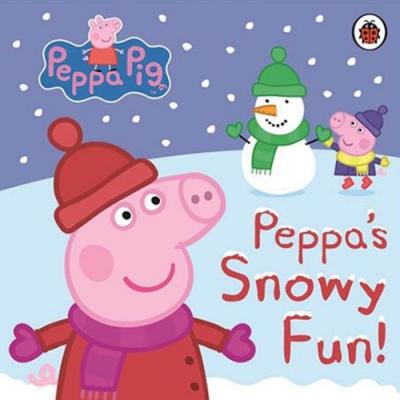 Peppa Pig:Snowy Fun 佩佩豬玩雪趣精裝硬頁書
