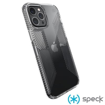 Speck Presidio Perfect-Clear Grip iPhone 12 Pro Max 透明抗菌防手滑防摔殼
