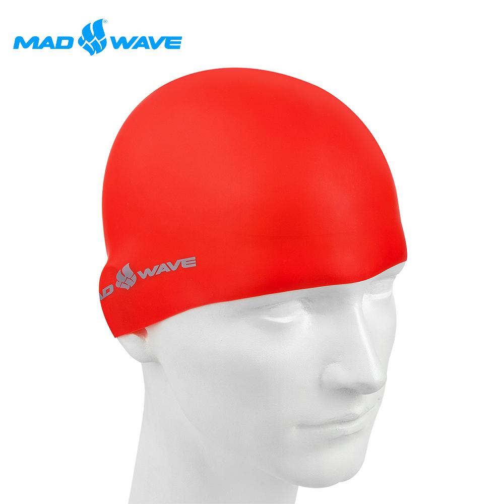 俄羅斯 邁俄威 加大矽膠泳帽 MADWAVE INTENSIVE BIG