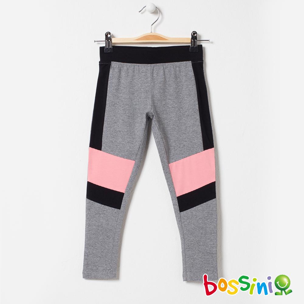 bossini女童-速乾針織貼身褲麻灰