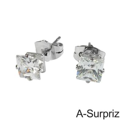 A-Surpriz 芳心情意晶鑽耳環