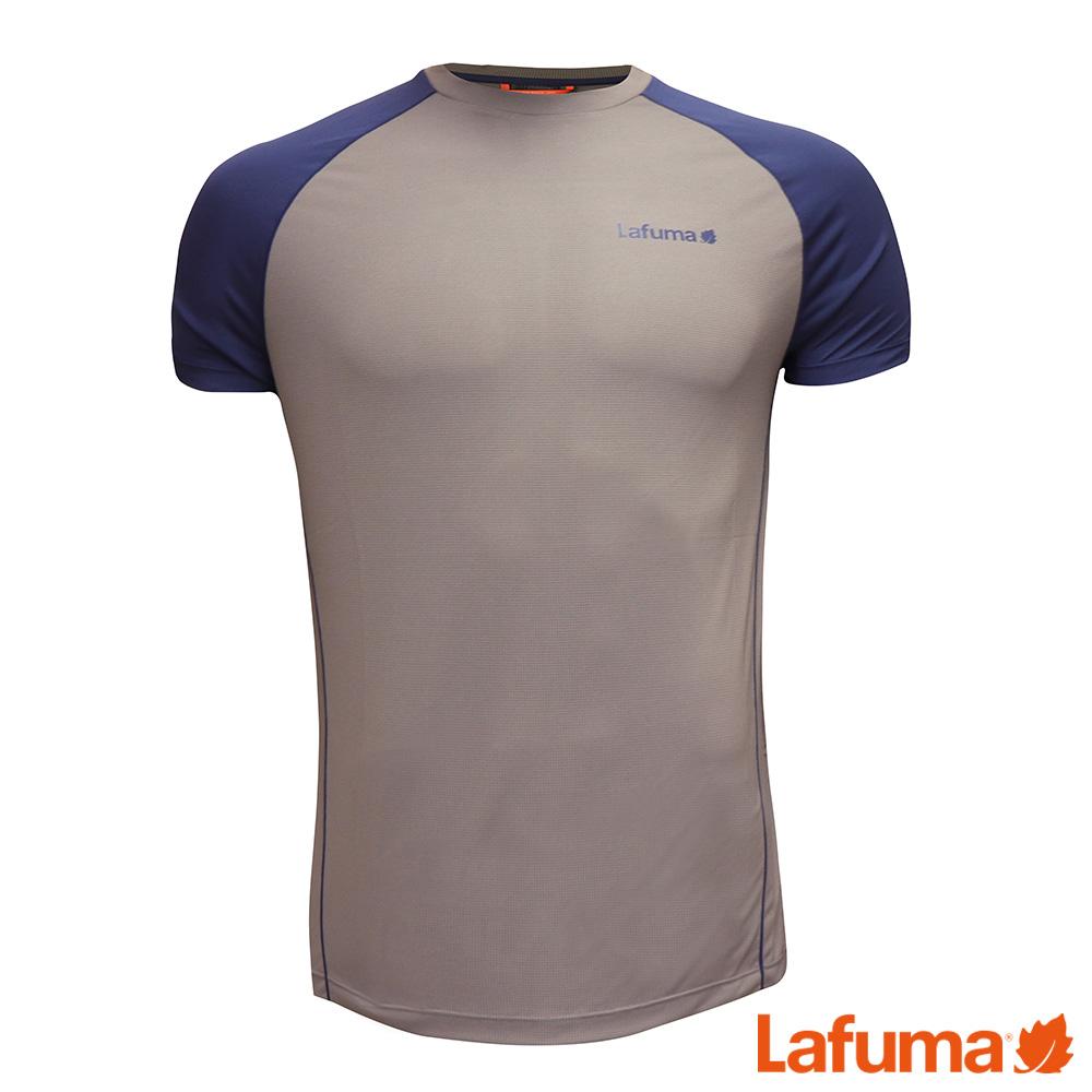 LAFUMA-男WAY 短袖排汗衣-LFV114573841-鐵灰
