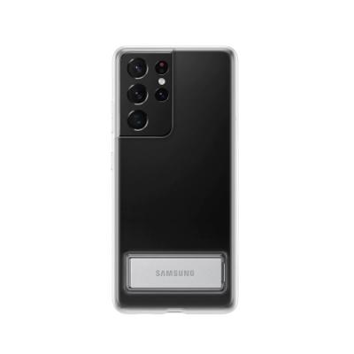 SAMSUNG Galaxy S21 Ultra 5G 原廠立架式背蓋_透明(台灣公司貨)