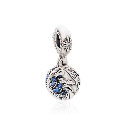 Pandora 潘朵拉 迪士尼系列 冰雪奇緣 艾莎與諾可 垂墜純銀墜飾