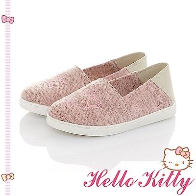 HelloKitty親子鞋-不對稱輕量懶人童鞋-粉