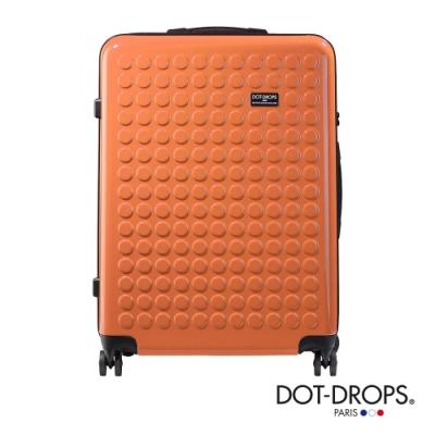 DOT-DROPS 28 吋 Chapter 2 輕量客製點點硬殼行李箱 - 珊瑚橘