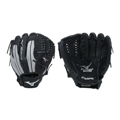 MIZUNO 少年用手套-右投-美津濃 棒球 壘球 312724-R 黑灰銀