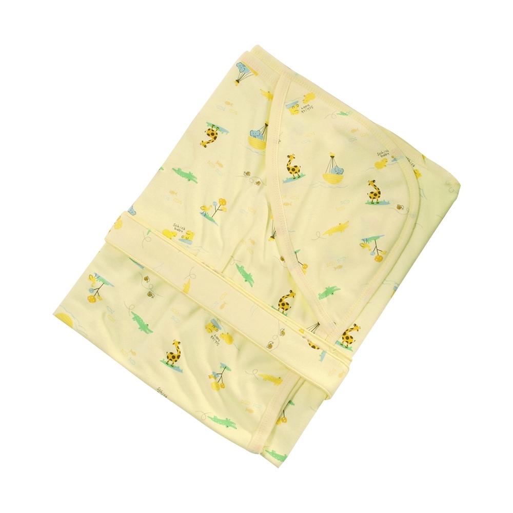 嬰兒台灣製純棉嬰兒包巾  b0300 魔法Baby