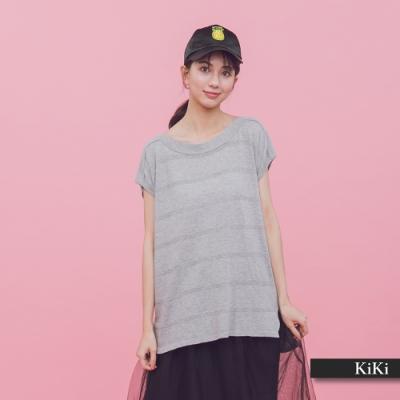 【KiKi】輕鬆外出長版-針織衫(三色)