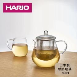 [日本HARIO]耐熱玻璃茶壺700ml(CHC-70T)