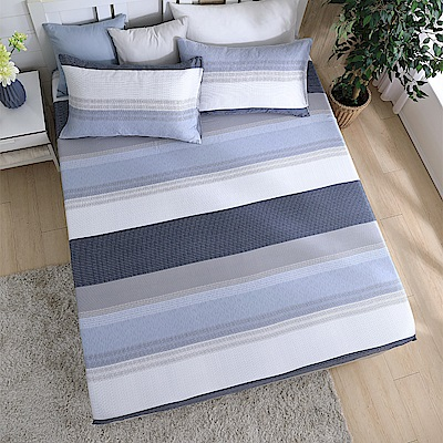 岱思夢 單人100%天絲床包枕套二件組 海風吹過的夏