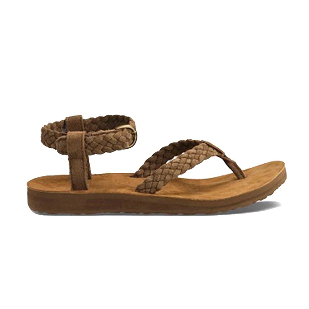 TEVA Original Sandal Suede Braid 涼鞋 棕 女