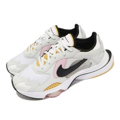 Nike 休閒鞋 Zoom Division 運動 女鞋 海外限定 氣墊 舒適 避震 球鞋 穿搭 白 灰 CK2950103