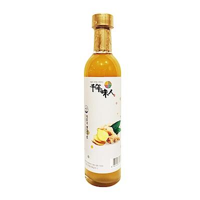 韓國千年味人 天然釀造醋飲-生薑醋(300ml/瓶)