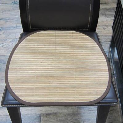 范登伯格 - 仲夏頌 天然竹子餐椅墊-竹絮 (40x43cm 六入一組)