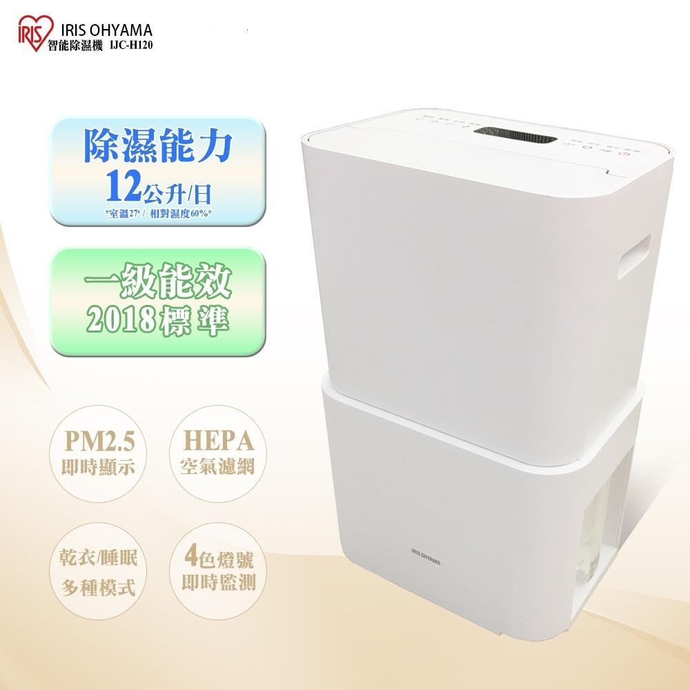 IRIS 12L 1級過濾PM2.5空氣清淨除濕機 IJC-H120