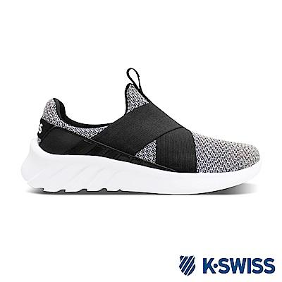 K-SWISS Aeronaut Flex輕量健走鞋-女-灰/黑