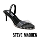 STEVE MADDEN-ZOELLE 滾珠一字帶低跟涼鞋-黑色 product thumbnail 1