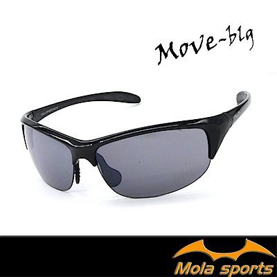 MOLA摩拉超輕量運動太陽眼鏡 22g UV400 男女 外出休閒 高爾夫 跑步 自行車-