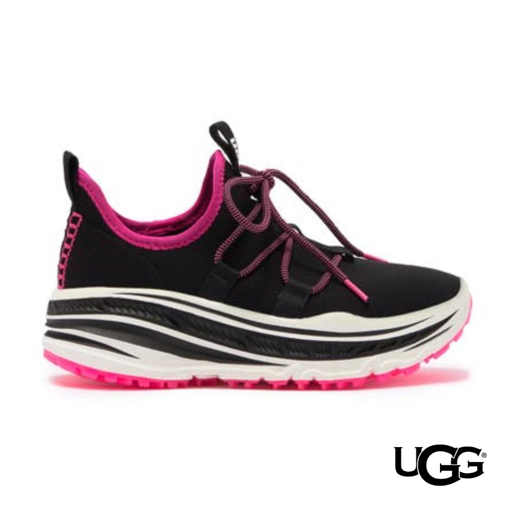 UGG女士 Lace Runner 襪套式撞色運動感休閒鞋