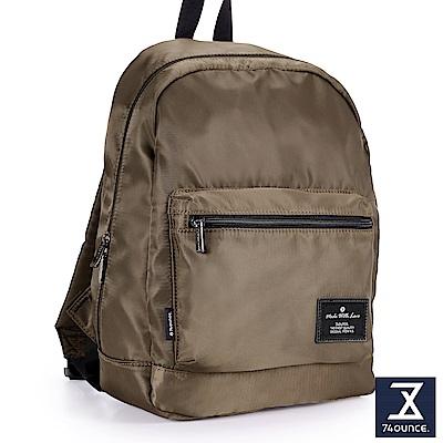 74盎司 Simple 多夾層設計後背包[LG-796]咖啡
