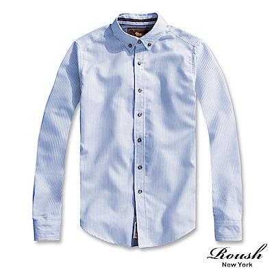 Roush 高磅數牛津布條紋襯衫(3色)