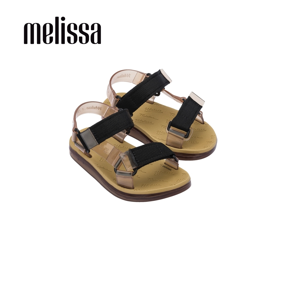 Melissa x Rider Good Time潮流休閒涼鞋 兒童款-褐