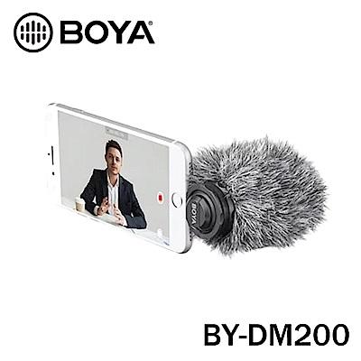 BOYA 博雅 BY-DM200 蘋果設備直插式麥克風 立福公司貨