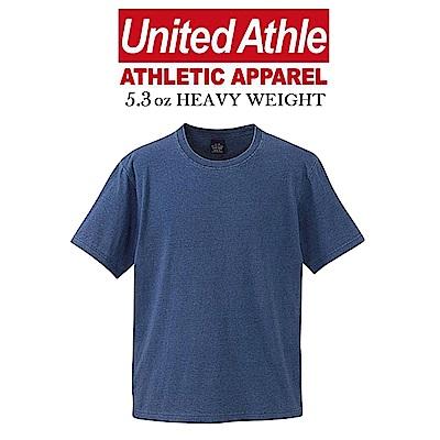 日本United Athle丹寧藍染INDIGO素T UA短T 5.3磅
