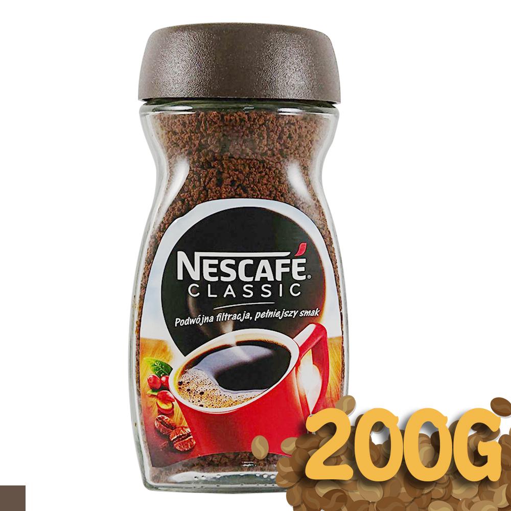 Nescafe classic 經典 即溶 咖啡粉 200G 100杯 @ Y!購物