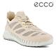 ECCO ZIPFLEX W 酷飛拼接設計運動戶外休閒鞋  女鞋 石灰色 product thumbnail 1