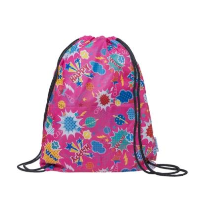 【IMPACT】歡樂星球-束口袋-粉色 IMG0006PK