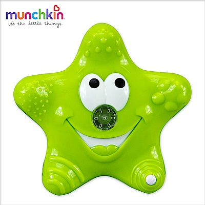 munchkin滿趣健-可愛星星噴水洗澡玩具-綠