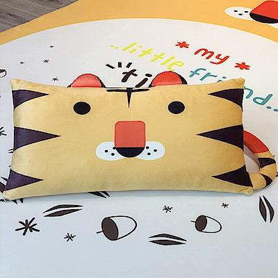 HUEI生活提案 水晶絨 可拆洗動物造型造型枕 可愛虎